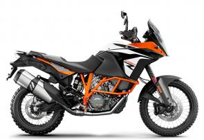 This motorcycle is KTMs most offroad-capable ADVENTURE model and uses the same state-of-the-art technology as the KTM 1290 ADVENTURE R.
