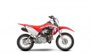The Honda CRF110F may be small, but it�s mighty. Loaded with features and sporting championship-winning stylings.