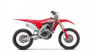 Honda's incredible CRF450R just keeps getting better and better. And if you're looking to dominate the 450 class, this is the bike you want.