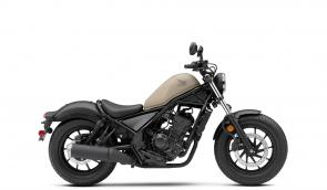 When we launched our Rebel 300 a couple of years ago, riders everywhere loved the way it combines a fresh, new look with timeless features like a low seat height, light weight, narrow 286cc single-cylinder engine and user-friendly powerband. And for 2020 we kept all those best parts, but have given the Rebel 300 some tasty upgrades, like a LED lighting package (headlight, taillight, turn signals and more), new instruments, a slipper/assist clutch that lightens clutch pull, new suspension, and a whole bunch of new Honda accessories available too. In short, this great bike is better than ever. Now that's a revolution we can all get behind.