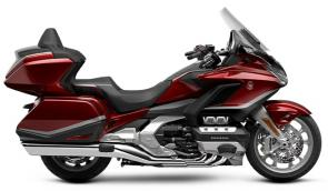 The Honda Gold Wing has always been a spectacular touring bike, ever since the first GL1000 back in 1975. And over the years, our engineers have always stayed true to that vision, but theyve strived to make the bike better and better. Our 2021 model is a perfect example of that. Refinements abound, but the best parts remain the same. Youll still have your choice of both manual-transmission models and Gold Wings featuring our exclusive automatic DCT transmission, but this year the trunk is bigger for more road-trip storage, the speakers have a higher 55-watt rating, and the passenger seat on our Tour models is improved. We also freshened up some styling touches, like solid red tail lights and paint choices; check out the grey with orange accent stripe on our no-trunk models! Plus, all Gold Wings are now Android Auto compatible, as well as offering Apple CarPlay. All in all, a truly great motorcycle gets even better; so your dream ride has everything youll need to make memories that last a lifetime.
