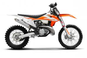 Take the unrelenting ferocity of an SX bike, add a few extra horsepower and torque, a longer-range fuel tank and an 18 rear wheel to accommodate more rubber, and youre well-armed to dominate the dirt. In a nutshell, the KTM 300 XC TPI is arguably the most accomplished cross-country racer available and now proudly adds TPI to its name and further demonstrates KTMs unrelenting commitment to 2-stroke advancement.