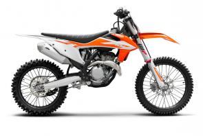 The KTM 350 SX-F continues to deliver a dominant mix of horsepower and agility. It has an exceptional power-to-weight ratio with torque similar to that of a 450, without losing its 250-like agility. When youre looking for more than one advantage, this powerful, lightweight racer combines all your needs into one dominant package with serious championship pedigree to back it up.