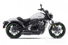 As for the 2015 Vulcan S itself, it looks to us like Kawasaki has built what it wanted, an affordable and highly accommodating cruiser, one that benefits from a low center of gravity and a reasonably light claimed curb weight of 496 lb. That's good for both stability and rider confidence, and Kawasaki says the steel chassis has been designed with good lean angles in mind. In back, the offset laydown shock offers 3.15 inches of travel. It also has seven preload settings.