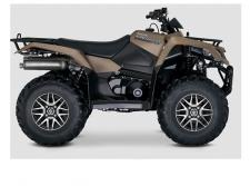 The legacy of the iconic KingQuad remains fresh and exciting, and is ready for you to join its history. Each model is easy to ride on any terrain with the capabilities that only a KingQuad possesses.  7099