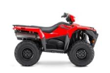 The KingQuad 750AXi is not just a new ATV, it's a new KingQuad ATV. Suzuki, the inventor of the 4-wheel ATV, took the world's best sports-utility quad and made it better and more capable than ever.
