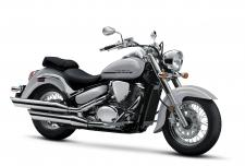 The Suzuki Boulevard C50 stamps a bold impression on traditional cruiser styling.