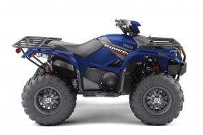 The class‑leading Kodiak 700 EPS Special Edition is ready and willing for work or play with cast aluminum wheels and new Backcountry Blue color and graphics.  YFM70KPLKL This item may not be available immediately in dealer stock. Some items may need to be ordered. See terms for details.