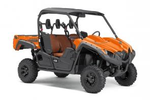 The Ranch Edition model has superior capability, comfort and confidence with the addition of bold paint and graphics.
