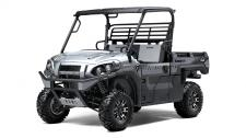 "The ""play"" side of the Kawasaki MULE PRO Series just got stronger with the MULE PRO-FXR side x side. Its compact shape stands out amongst the Kawasaki side x sides with a premium appearance, painted finish and aggressive styling. The MULE PRO-FXR is a true boss vehicle."
