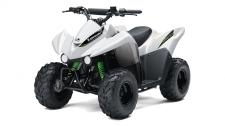 THE KFX50 ATV IS THE PERFECT FIRST ATV TO INTRODUCE NEW RIDERS 6 YEARS AND OLDER TO THE EXCITING FOUR-WHEEL LIFESTYLE.