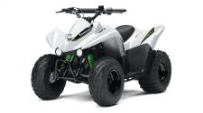 THE KFX90 ATV PROVIDES THE IDEAL BLEND OF SIZE AND PERFORMANCE FOR RIDERS 12 AND OLDER THAT ARE JUST GETTING STARTED OR STEPPING UP FROM A 50cc ATV.