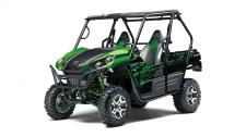 Designed for adventure, two-passenger Teryx side x sides have the edge when it comes to power and handling.