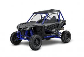 One size never fits all. And neither does one style. Off-roaders are individualists, and that means they want to do things their way. We hear you, and that's why our Talon family of sport side-by-sides just keeps growing. The Talons are available in both two- and four-seat models, and with a choice of suspension options. All share the same powerful, Honda designed and built high-output engine, quick-shifting Automatic DCT Transmission, and exclusive I-4WD technology. Rider comfort? Nobody does it like Honda. Performance? We've built our reputation on it. The key differences between our two-seaters? The Talon 1000R has a longer wheelbase, a wider vehicle track, and more suspension travel than the Talon 1000X. It's a perfect match for riders who tackle rugged, more wide open terrain. New for 2021, both the Talon 1000R and Talon 1000X are available with FOX Live Valve suspensions for the best off-road handling you've ever experienced. Further proof that life is better, side by side. CA 252474