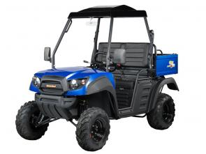 The Hammerhead R-150 is our light-duty, two-wheel drive utility vehicle that is ideal for cruising around the lake house or doing maintenance around your property.
