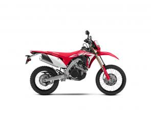 A street-legal dirtbike that offers the refinement of a Honda, along with light weight, superior handling, and plenty of power.