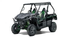 Known for its legendary V-twin power and versatility, the Kawasaki Teryx side x side is ready to tackle the toughest of obstacles. Built with Kawasaki Heavy Industries Ltd. (KHI) strength and backed by the Kawasaki STRONG 3-Year Limited Warranty, the Teryx is the ultimate off-road adventure partner.