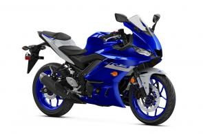 Legendary Yamaha superbike styling, advanced twin cylinder engine and ultra‑light chassis make it the bike of choice.