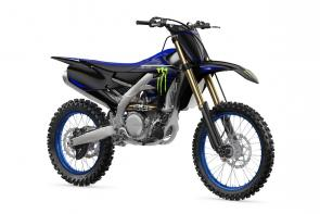 Race like the Yamaha factory team with your own Monster Energy‑inspired, class‑leading YZ450F.