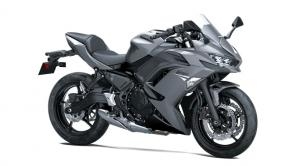 Built to embody Ninja® sportbike lineage, the Ninja® 650 motorcycle comes packed with a sporty 649cc engine, next-level technology and sharp styling. Unmistakable sport performance is met with an upright riding position for exciting daily commutes, while a supreme level of attitude reminds you of its legendary heritage.