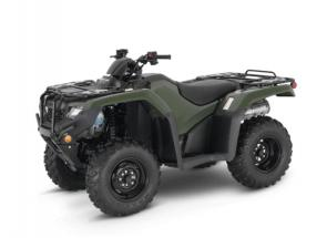 Choice: It's why restaurants have more than one item on the menu, or why you have more than one tool in your toolbox. Nobody knows what you want—or need—like you. Which is why we offer eight models in Honda's 2021 FourTrax Rancher lineup. Every one is loaded with the features you want, like rugged front and rear racks, a spacious front utility compartment, wide front drive-shaft guards, and an easy-to-use reverse system. Plus, our automatic DCT models give you an override shifting control, making this great transmission choice even better. So check out the whole menu, then take your pick—you can't make a bad choice here. 253286