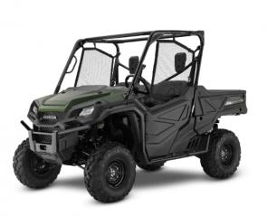 With so many side-by-sides to choose from these days, how do you pick the right one? Easy—because with a Honda Pioneer, you can't go wrong. They're machines you can count on for work or play, each one offering smart technology, superior materials, and refined engineering.  Our three-seat, top-of-the-line trio—the Pioneer 1000, Pioneer 1000 Deluxe, and Pioneer 1000 Limited Edition—give you a wide range of features and economy that are sure to be right for you. Need more seating? Make sure you check out our five-seat Pioneer 1000-5 models. Best of all, every Pioneer features something that doesn't show up on the spec chart, but which nobody else can offer: Honda's unrivaled reputation for reliability and quality. 252676