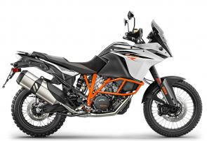 The KTM 1090 ADVENTURE R stares down anything in its path. Bespoke WP suspension, offroad wheels and a tough yet fuel-efficient engine are ready to rumble. Decades of rally raid victories roar within. This bike uses the same state-of-the-art technology as the KTM 1290 ADVENTURE R and even though its engine capacity is smaller, it's still big on power: 125 hp (92 kW).  The world is yours - Devour it.