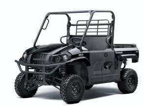 Mid-size 2021 Kawasaki MULE PRO-MX™ side x sides offer a comfortable fit for two passengers with the muscle to cover more ground in less time, and the versatility and capability to have some fun when the work is done.