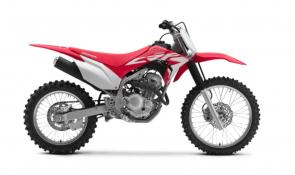 There are plenty of ways to enjoy the great outdoors, but a dirt bike is one of the best. You get to see so much more, and you're totally immersed in all of the sights, sounds, and smells. And the Honda CRF250F is one of our best trail-friendly two wheelers ever. For lots of riders, it's going to be the perfect size for your adventures. Its fuel-injected engine offers reliable power across a wide powerband, even in cold weather and higher altitudes, and there's no carburetor to fuss with if it's been sitting a while. The twin-spar frame is light, strong, and Honda tough. An electric starter makes getting up and running easy, and the styling is right off our championship-winning CRF motocrossers. When it's time to get out and go, this is the bike you'll want to be on. 253648