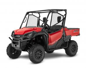 With so many side-by-sides to choose from these days, how do you pick the right one? Easy—because with a Honda Pioneer, you can't go wrong. They're machines you can count on for work or play, each one offering smart technology, superior materials, and refined engineering.  Our three-seat, top-of-the-line trio—the Pioneer 1000, Pioneer 1000 Deluxe, and Pioneer 1000 Limited Edition—give you a wide range of features and economy that are sure to be right for you. Need more seating? Make sure you check out our five-seat Pioneer 1000-5 models. Best of all, every Pioneer features something that doesn't show up on the spec chart, but which nobody else can offer: Honda's unrivaled reputation for reliability and quality.  252708