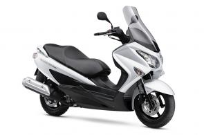 Our versatile Burgman scooters give you a comfortable commute with the power of a full-sized motorcycle.
