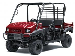 MULE 4000 TRANS™ and MULE™ 4010 TRANS4x4® side x sides are versatile mid-size two- to four-passenger workhorses that are capable of putting in a hard day of work as well as touring around the property. With the Trans Cab™ system, you get enough room for materials or your entire crew.
