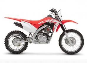 No matter what the sport, you need the right equipment if you're going to play your best. And that's exactly why the Honda CRF125F Big Wheel is such an important bike. It strikes the perfect balance between size and power for many growing riders.  We start by taking our CRF125F and add a longer swingarm and larger diameter wheels. That raises the seat height by two inches, making it a better fit for taller riders. The proven single-cylinder engine features fuel injection for broader power and better running in cold weather and high altitudes. There's also a four-speed transmission and a twin-spar steel frame, along with plenty of suspension travel for a plush ride. You even get an electric starter! Size matters—and the CRF125F Big Wheel is all about getting the size right.
