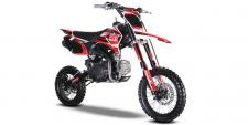 If trail riding is what you are looking to do then the SSR SR125TR is perfect. With a taller seat height, upgraded suspension and 125cc engine, this bike will go just about anywhere you take it. Positioned perfectly between the lower 110 bikes and the 140 and up bikes make this bike a perfect motorcycle for older kids and adults.