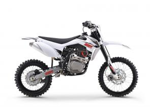 REDESIGNED PLASTICS - REBOUND / COMPRESSION ADJUSTABLE FORKS - UPGRADED SEAT - REBOUND / COMPRESSION ADJUSTABLE SHOCK