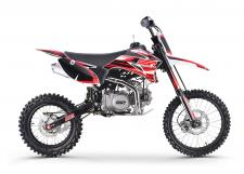 If you enjoy trail riding but want to hit the harder trails, then the SR140TR is what you are looking for. On this model you get adjustable suspension and an upgraded 140cc engine capable of pulling you out of any situation. The 140cc engine is powerful yet not extreme like the 170cc engines we carry. Perfect middle ground with adjustable suspension and a taller stance for older kids and adults.